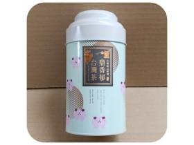 四兩精緻茶葉罐-白金