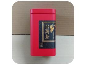 四兩精緻茶葉罐-霧面紅