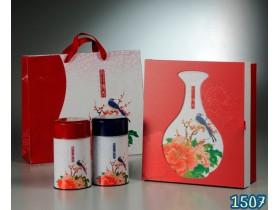 茶葉禮盒款式-花瓶(四兩禮盒)