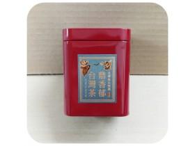 二兩精緻茶葉罐-深紅