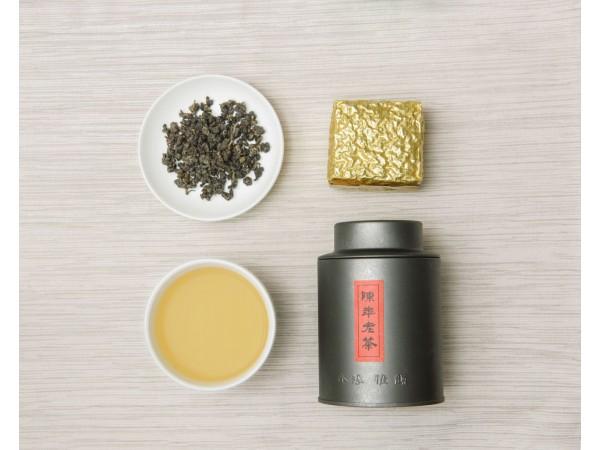陳年老茶炭火烘焙10年陳茶)(附茶罐)