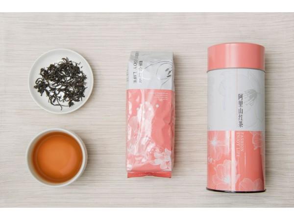 阿里山紅茶100克(附茶罐)