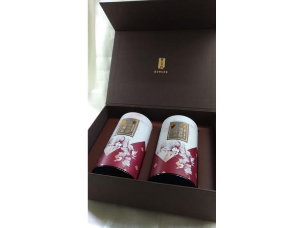 茶葉禮盒款式-木紋(四兩禮盒)